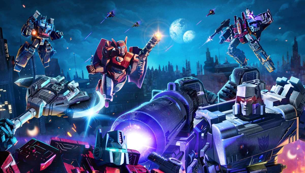 Transformers War For Cybertron Trilogy portada