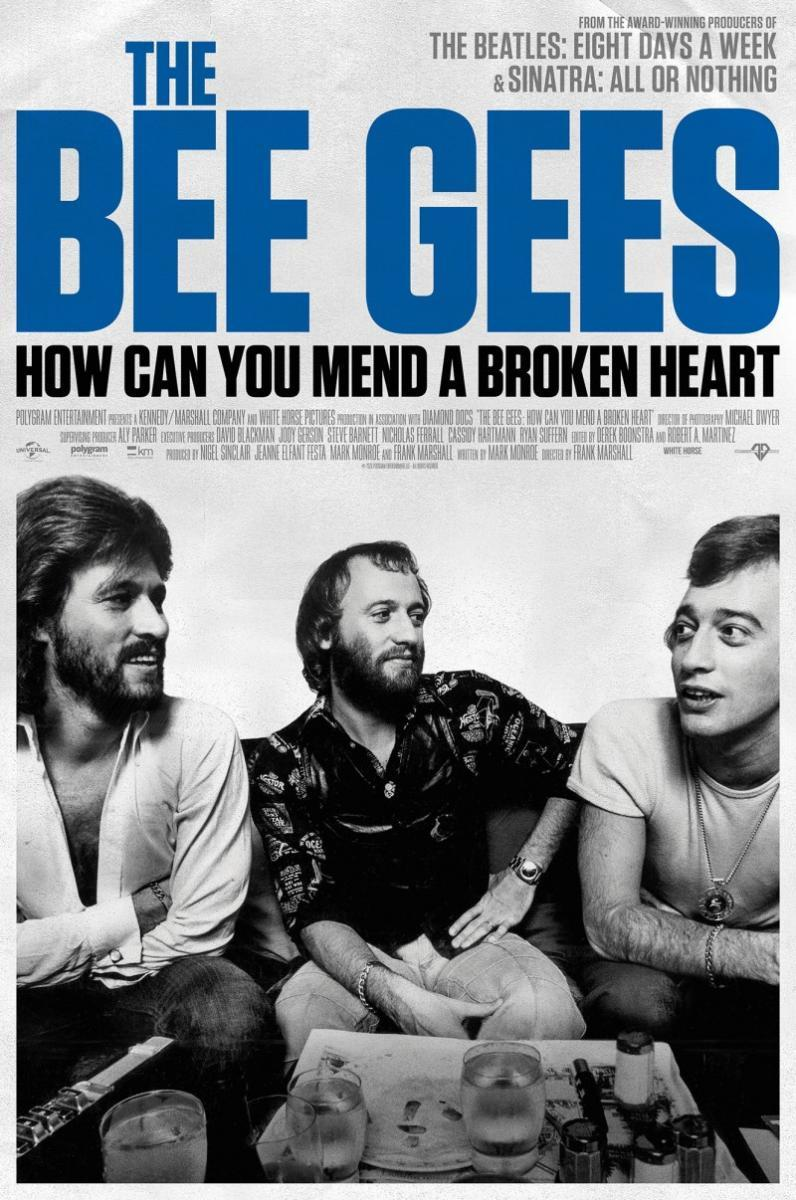 The Bee Gees How Can You Mend a Broken Heart poster